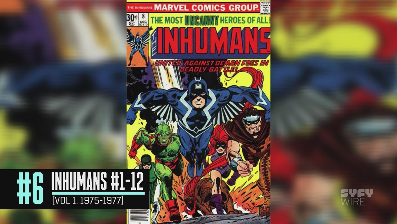 The 7 Essential Inhumans Stories