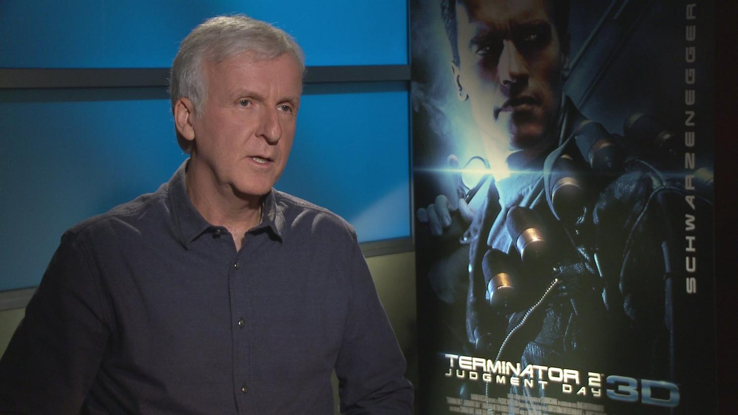 James Cameron on Why Terminator 2 Is Coming Back