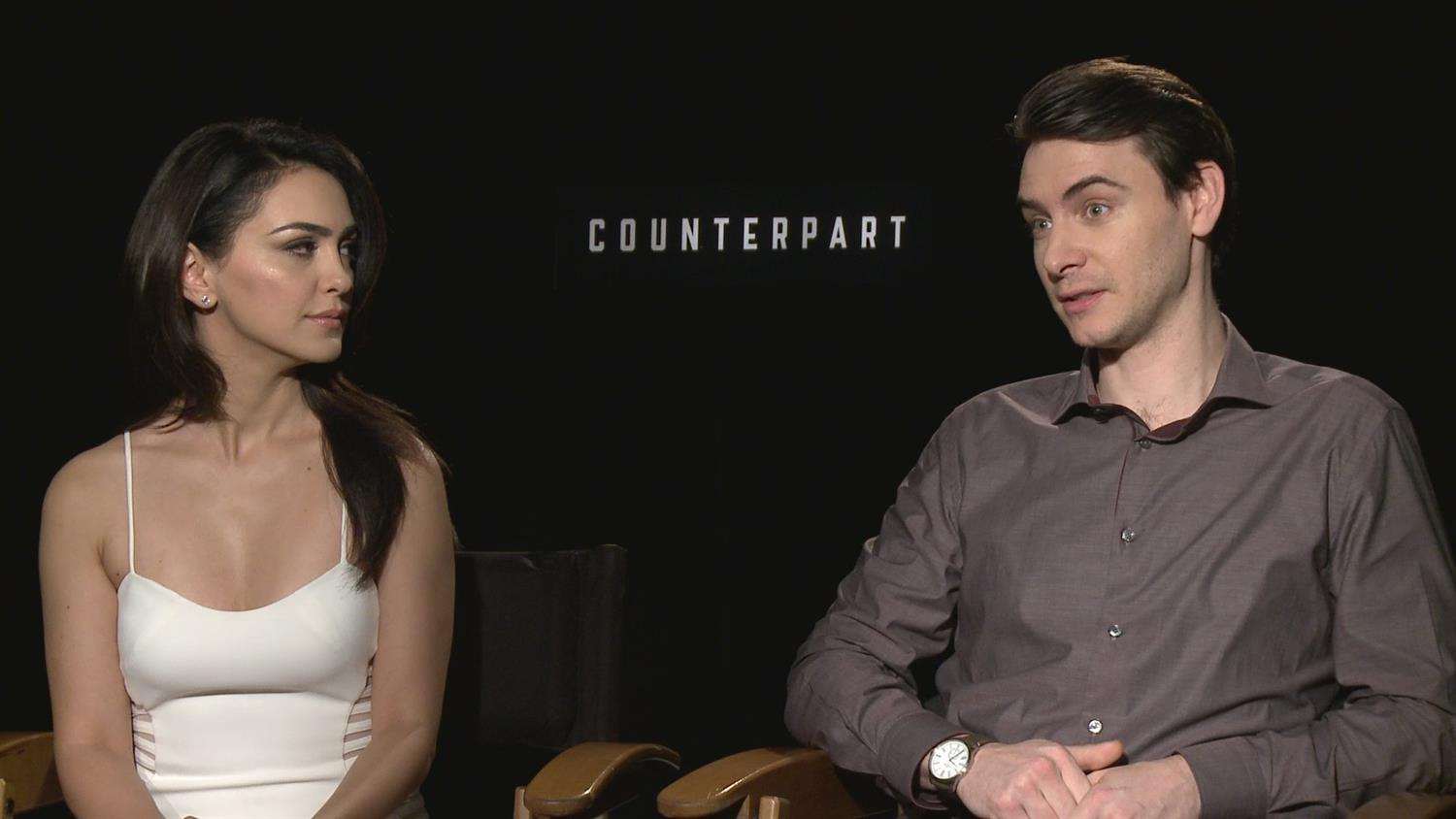 Counterpart Actors On Working With Parallel Dimensions