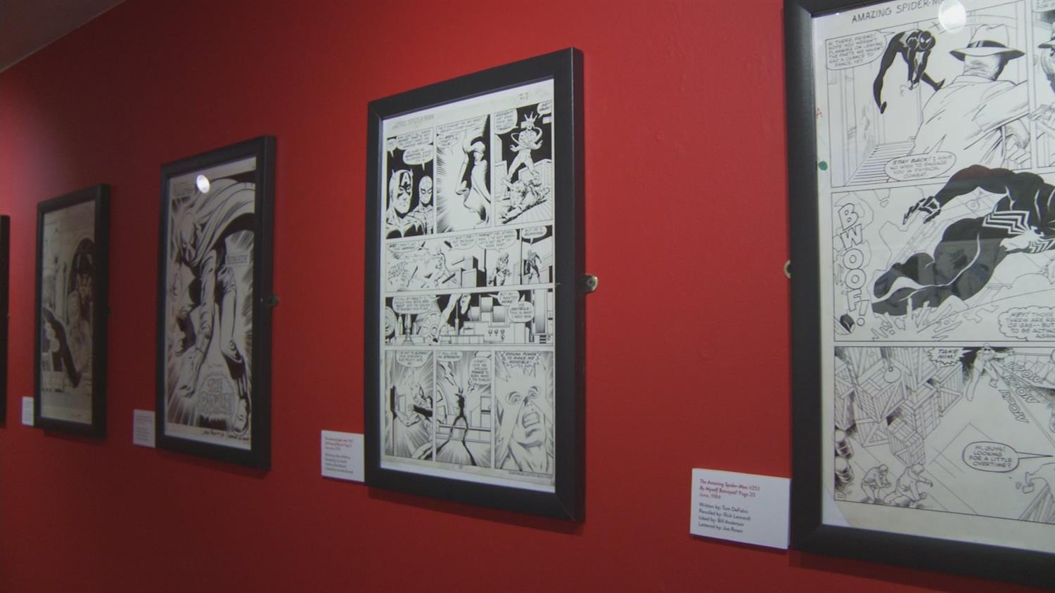 The Art of Spider-Man Exhibit: John Romita Sr. Reflections and More