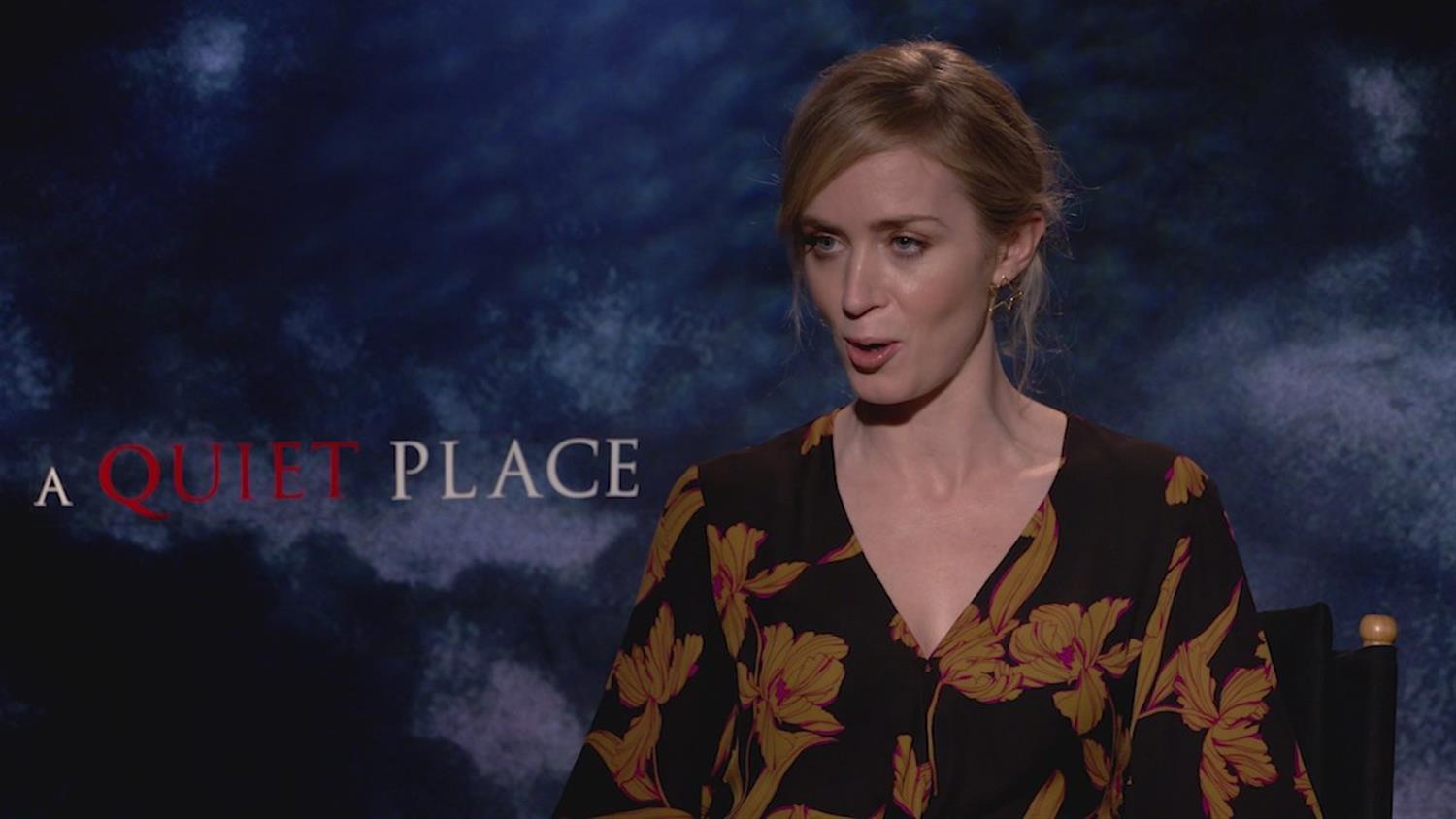 A Quiet Place's Emily Blunt on Slasher Films, Giving Birth in Silence and My Little Pony