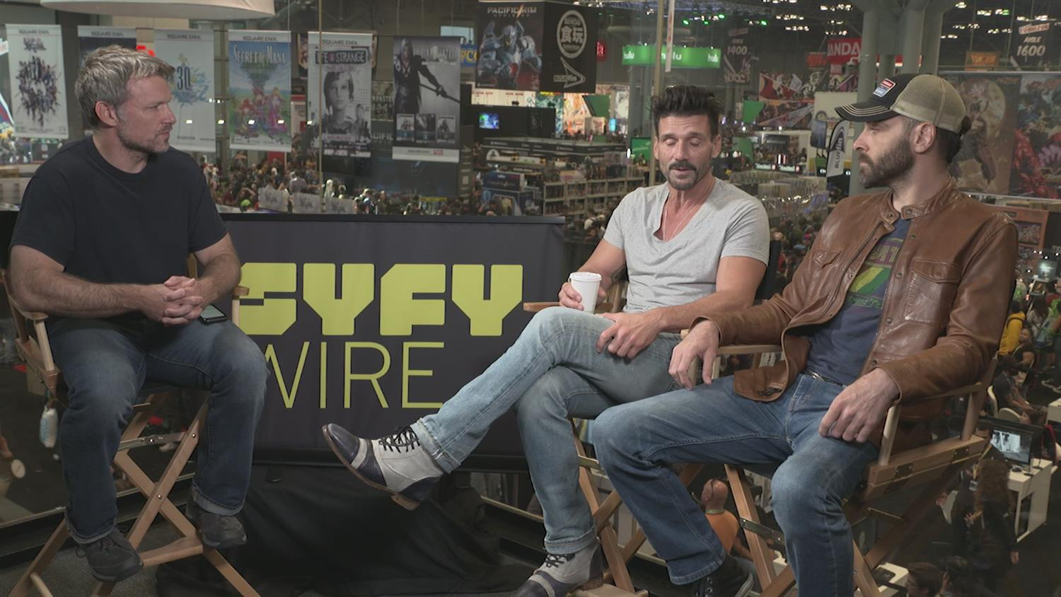 Wheelman's Frank Grillo on A Hiest/Action/Thriller/Love Story Mashup