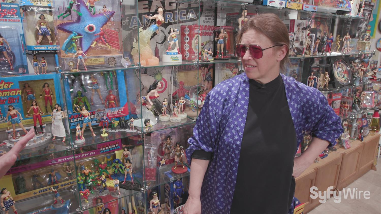 Take a Tour of the Wonder Woman Museum