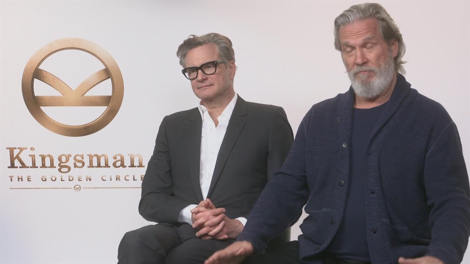 Kingsman: The Golden Circle's Jeff Bridges and Colin Firth on Hollywood Back in the Day