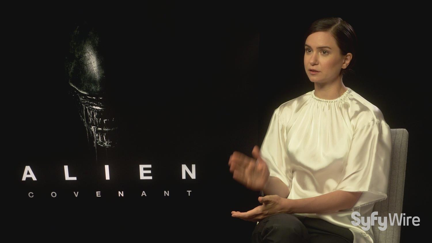 Alien: Covenant's Katherine Waterson on Sigourney Weaver/Ripley