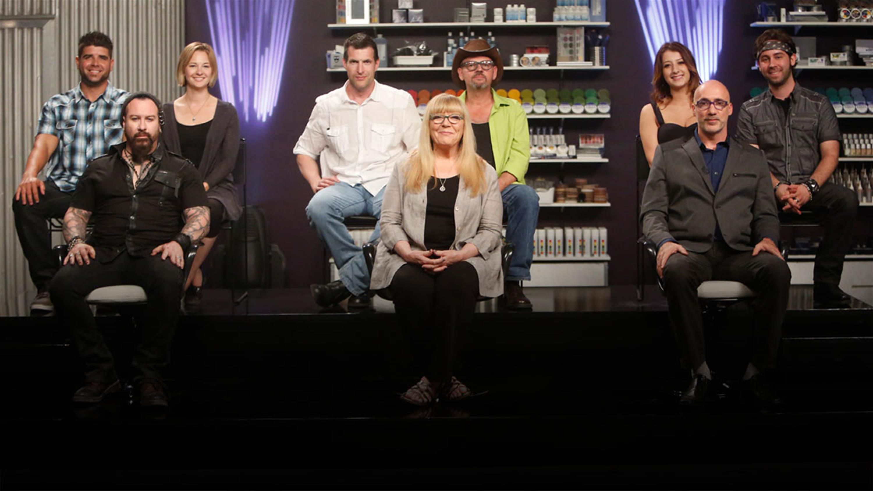 Face Off Special: Judges Compete
