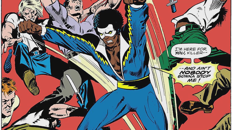 Black Lightning Cast on Pulling From Comics