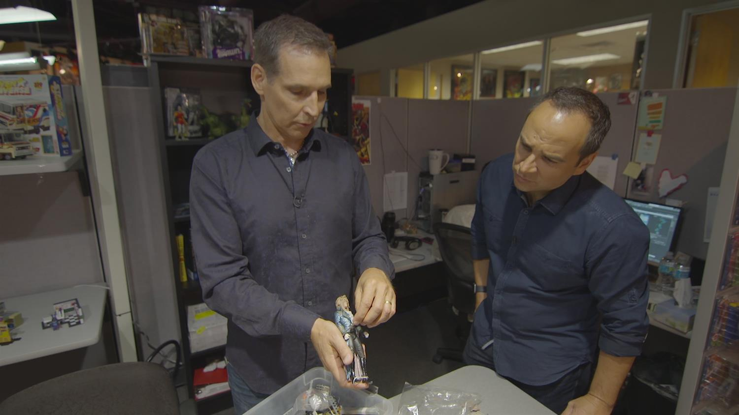 McFarlane Toys Office Tour: Todd McFarlane, Labyrinth and the Making of a Figure