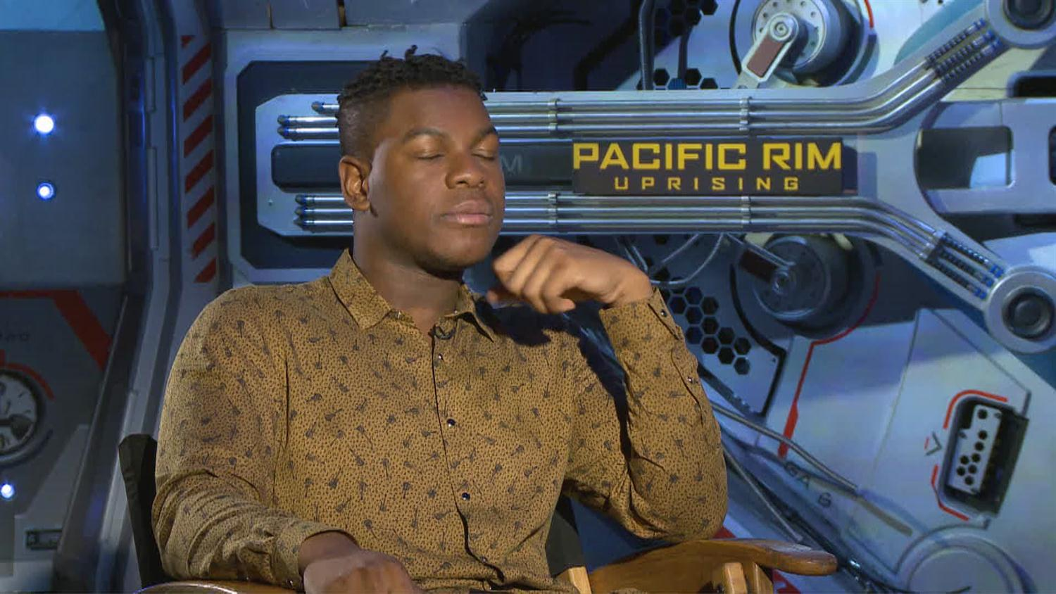 Pacific Rim's John Boyega Has The Best Jaeger Name (And Talks Monster Porgs)