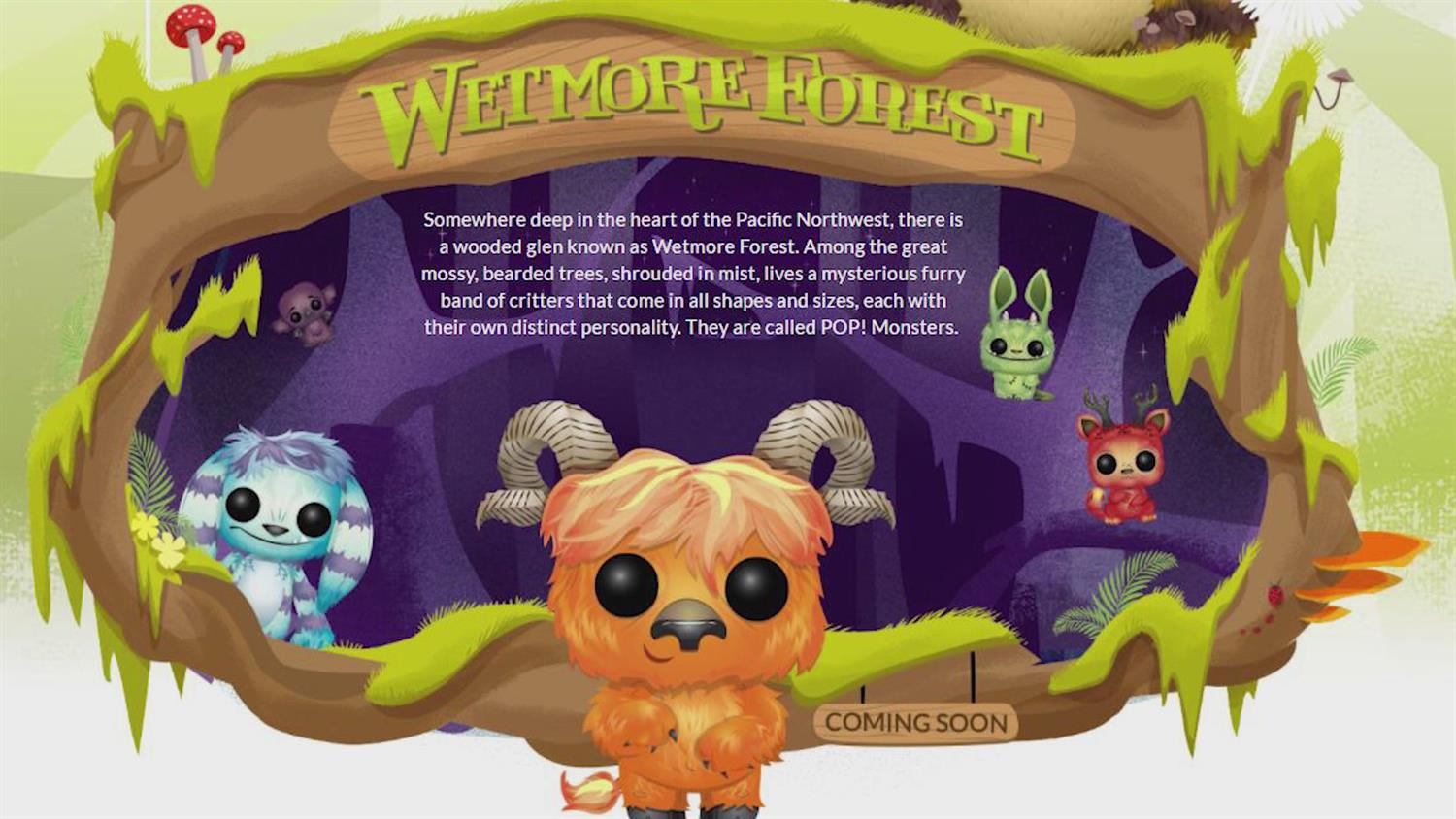 Take a Tour of Funko's Wetmore Forest