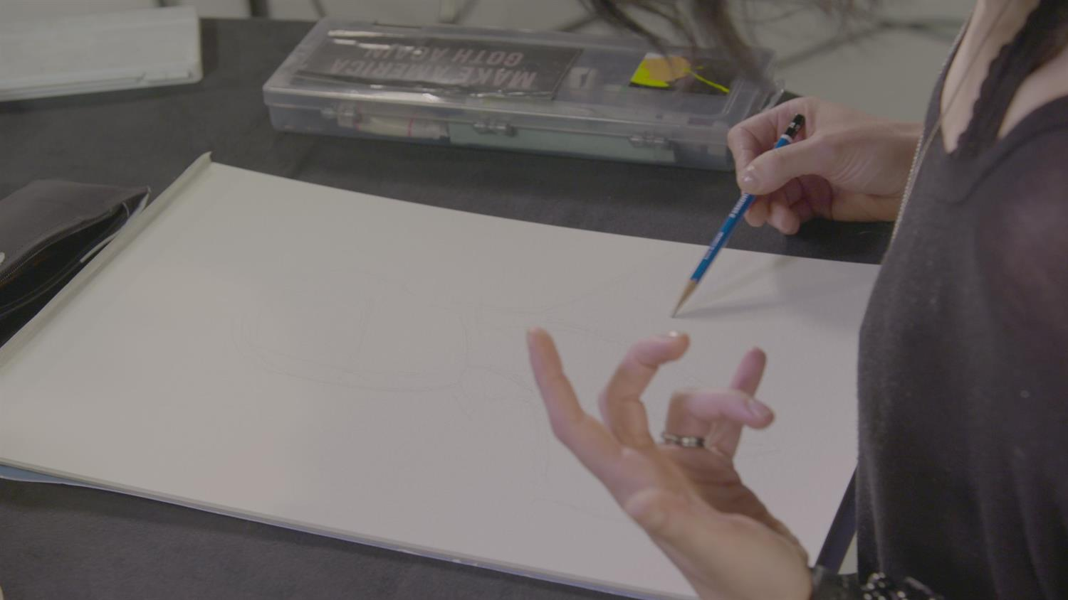 Watch Comic Book Artist Megan Hutchinson Sketch Rockstars