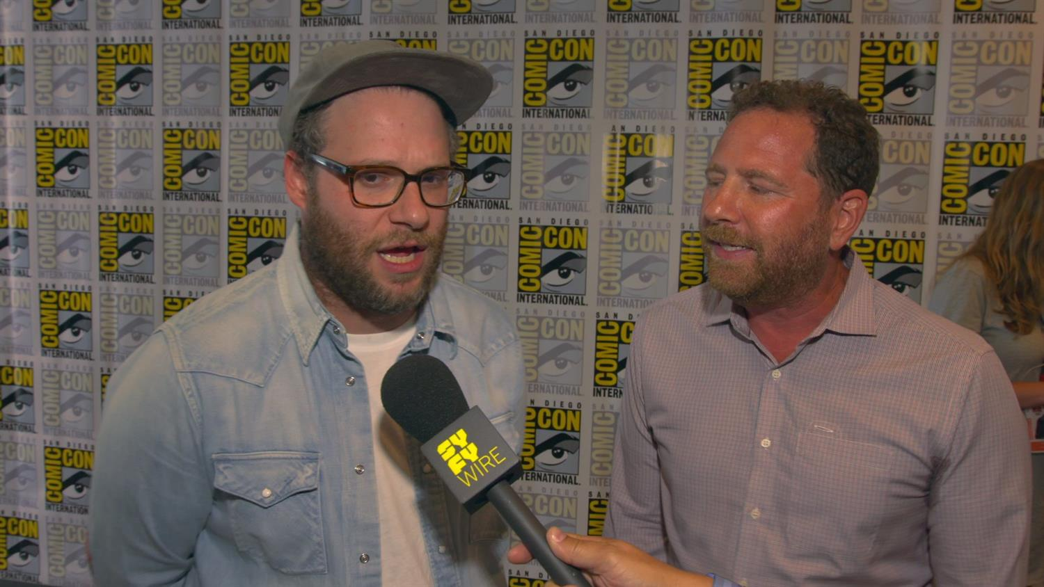 Seth Rogen and Future Man Cast Preview Series, Talk Time Travel Rules