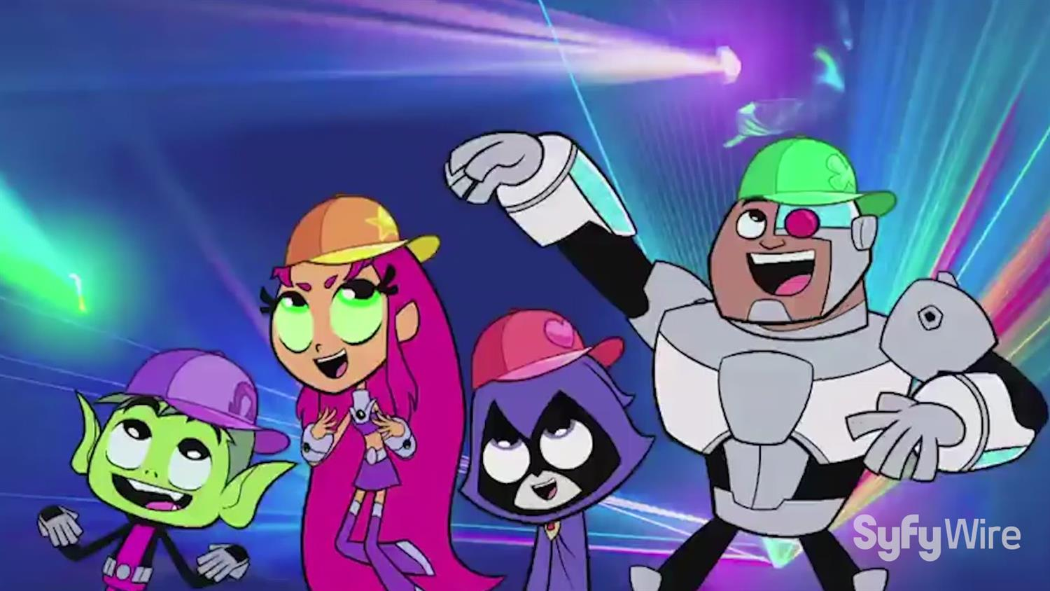 Teen Titans Go! Cast on Holidays Year Round