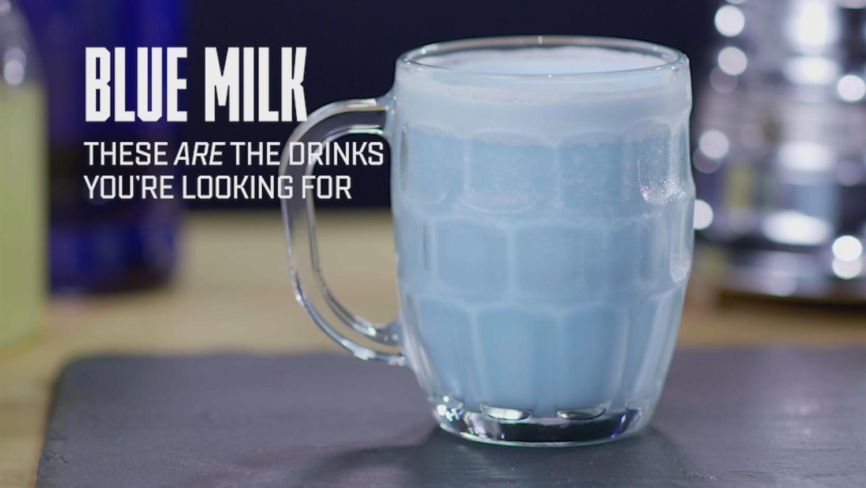 How to Make Blue Milk