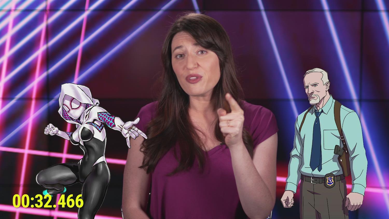Spider-Gwen in 2 Minutes