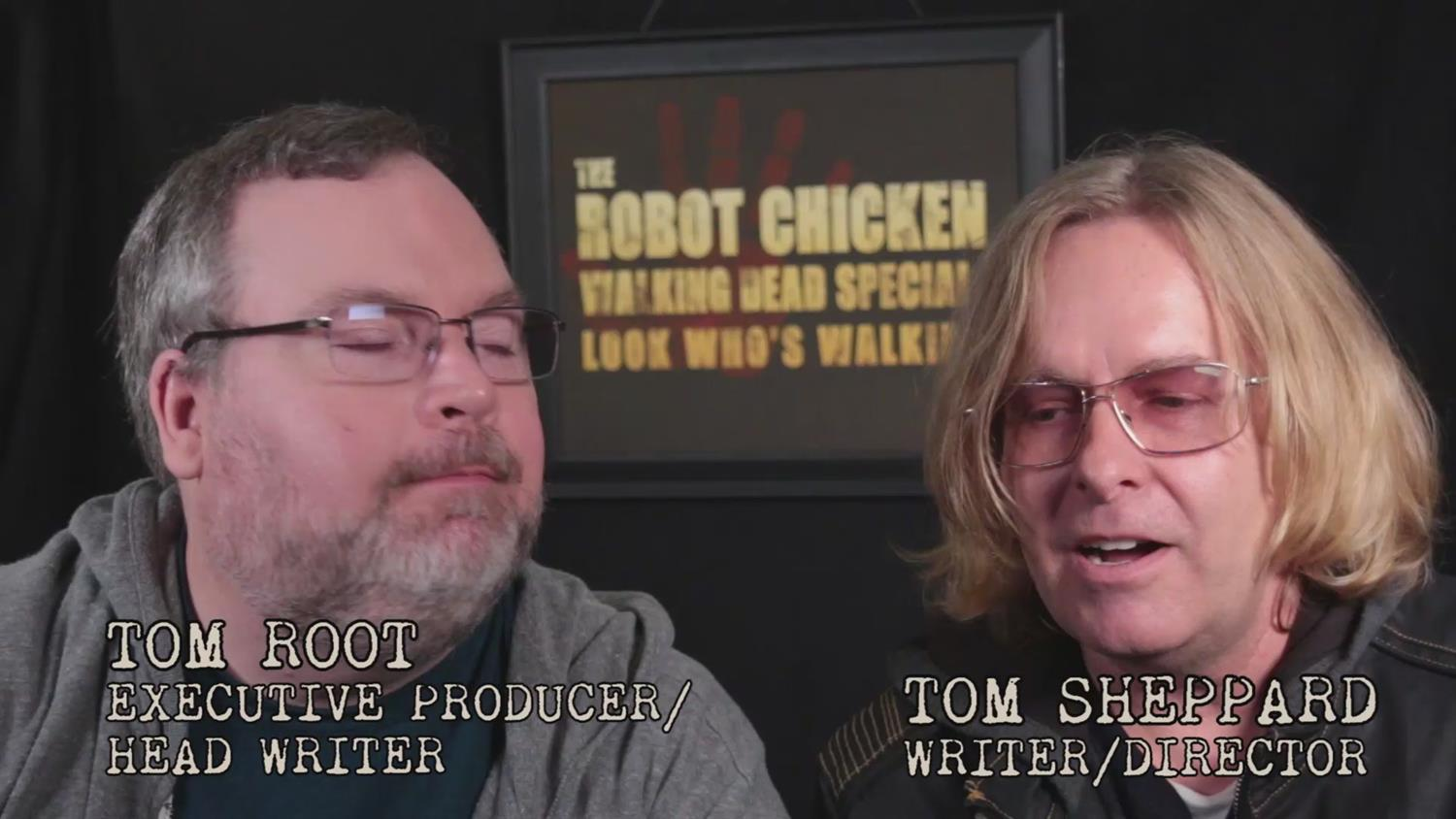 Exclusive Sneak Peek: Robot Chicken's Walking Dead Special DVD Extras