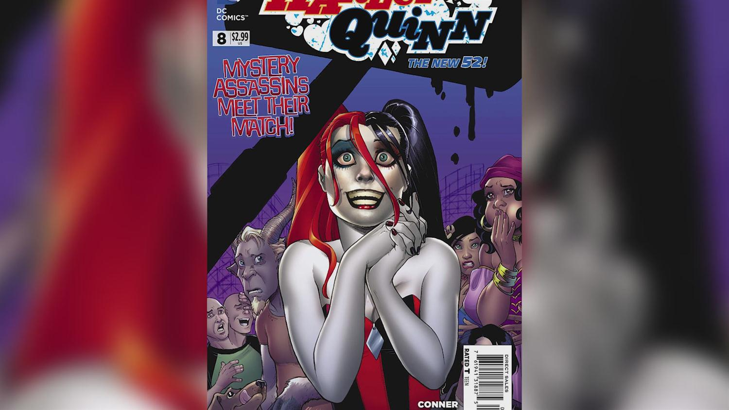 Harley Quinn's Amanda Conner and Jimmy Palmiotti on That Time They Threw Poop at DC Comics