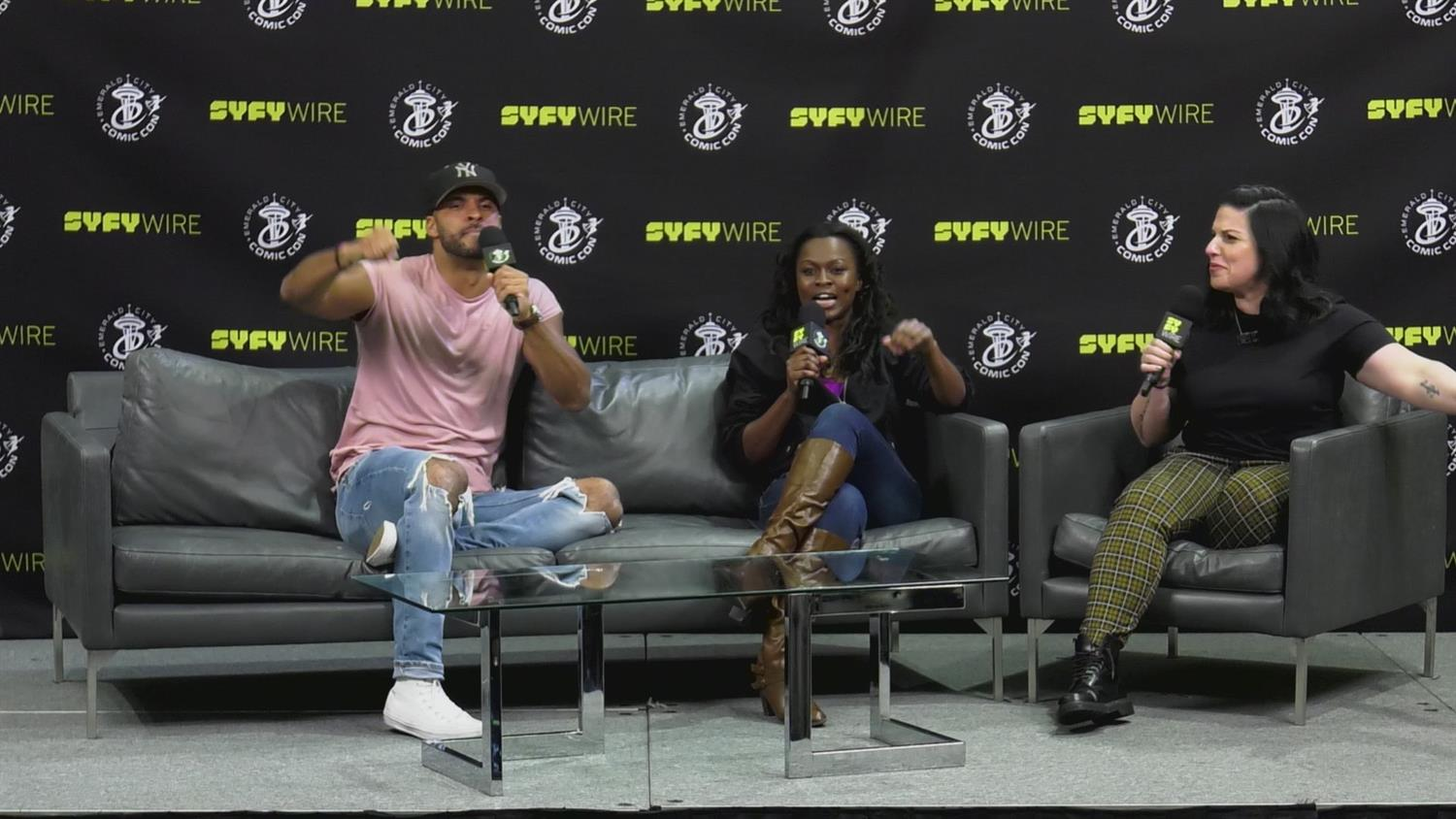 American Gods' Ricky Whittle & Yetide Badaki Tease Season 2 (Emerald City Comic Con)