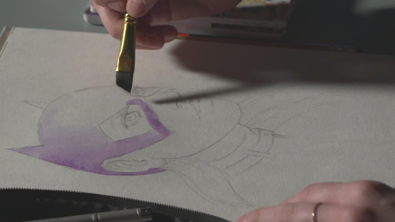 See Batgirl Painted By Emma Kubert