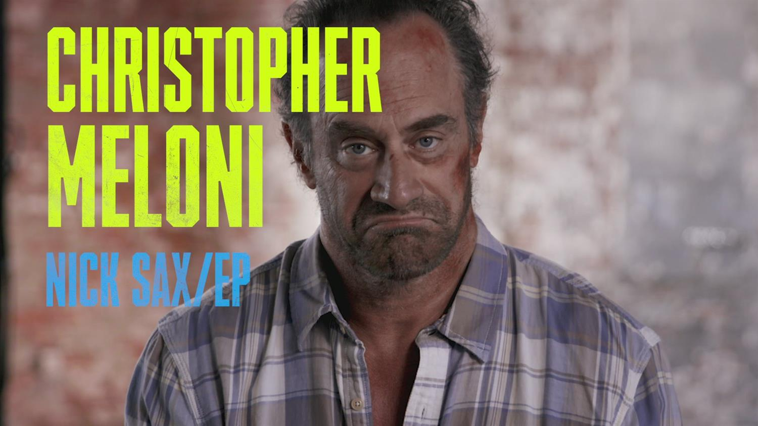 Chris Meloni Is Nick Sax