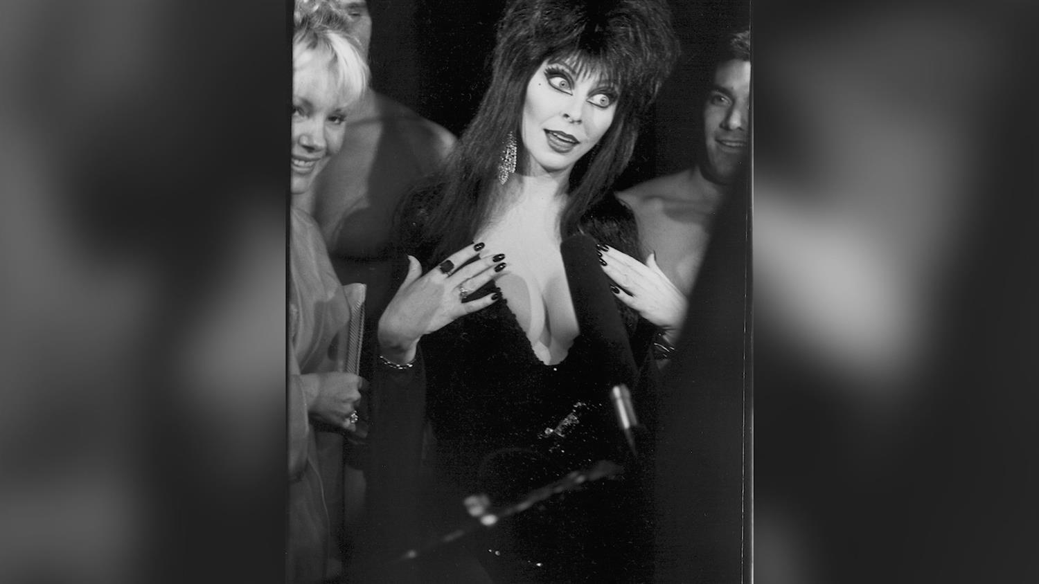 Elvira Takes Us Backstage At Her Halloween Show