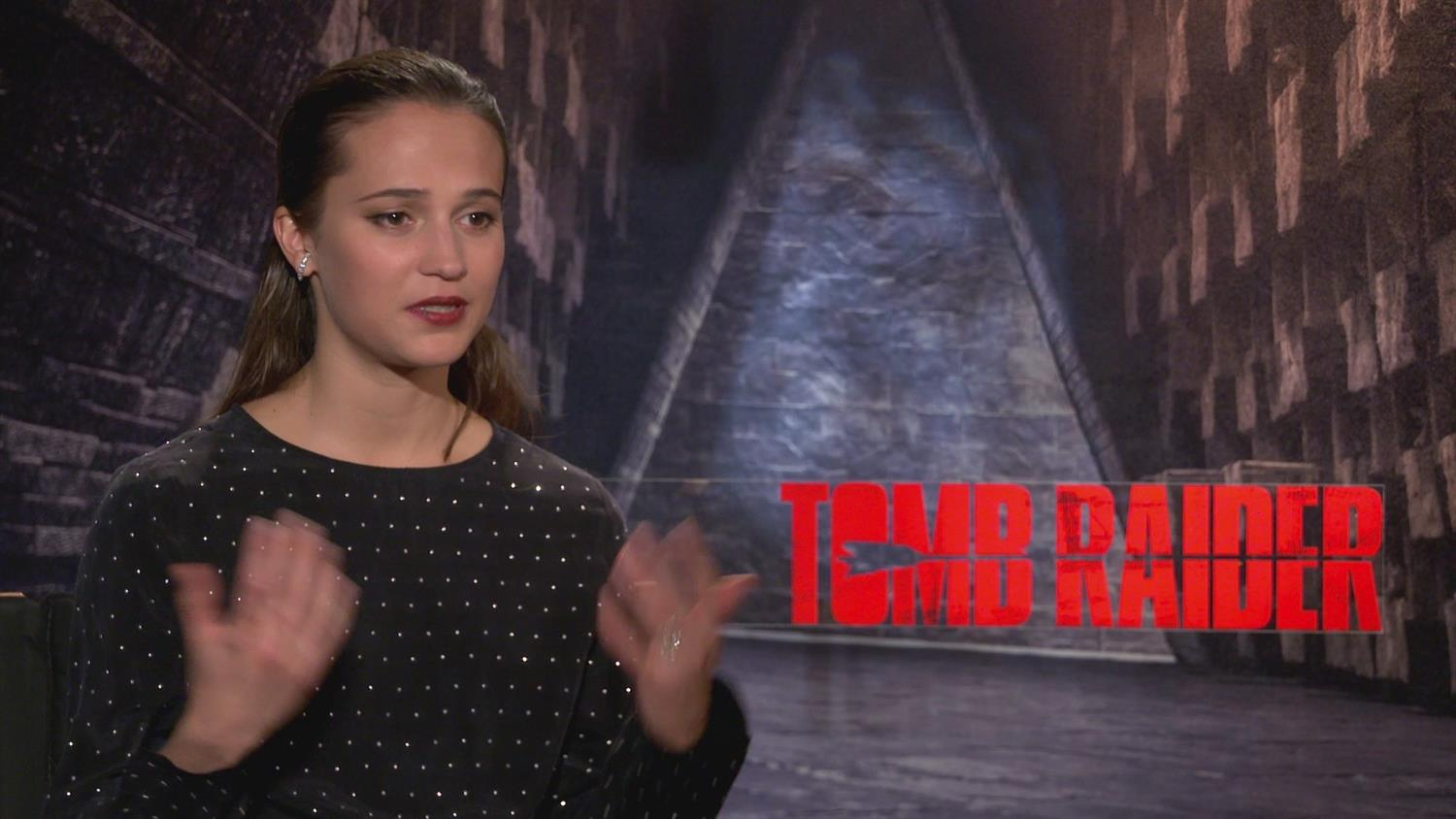 Tomb Raider's Alicia Vikander Has Thoughts About The Video Game