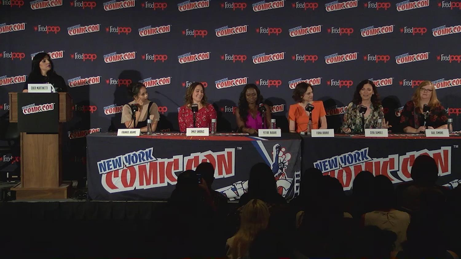 SYFY WIRE's Fangrrls Panel at New York Comic Con: The Bad Ass Women of Sci-Fi