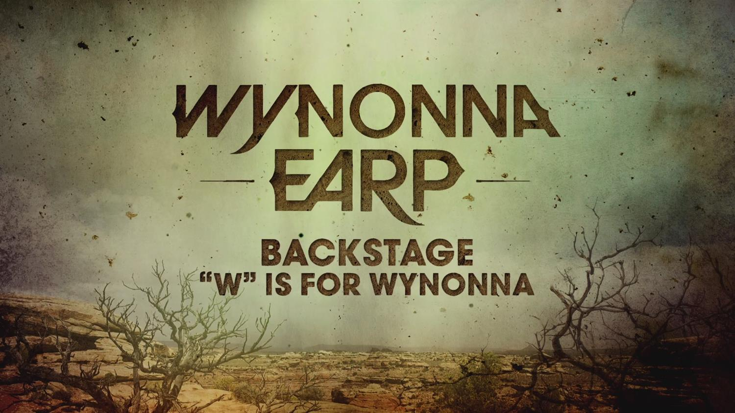Wynonna Earp Backstage: W is for Wynonna