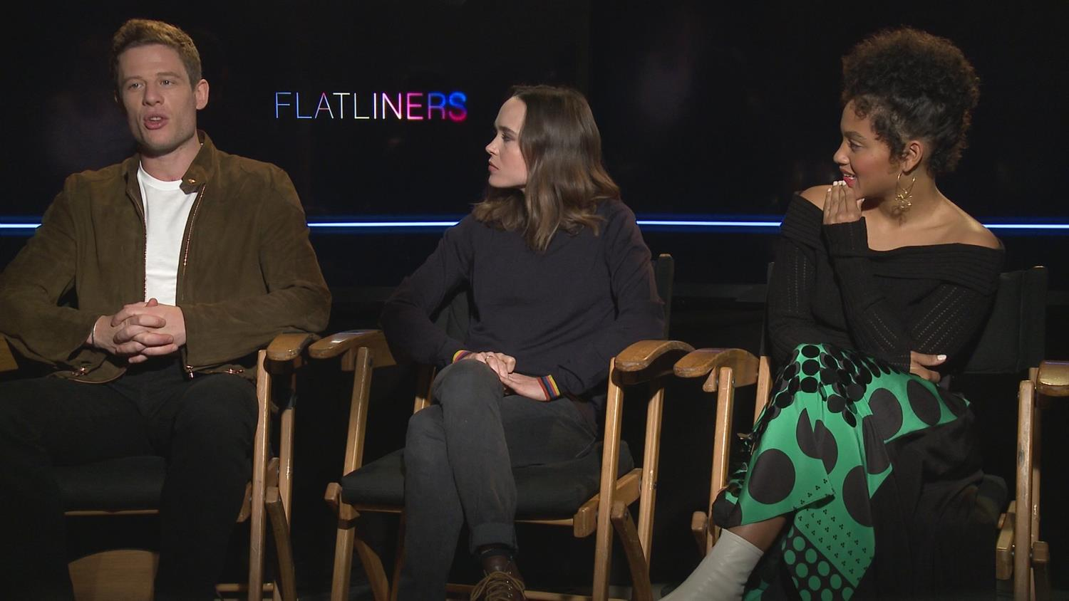Flatliners Cast on Deeper Themes - And Slip N'Slides