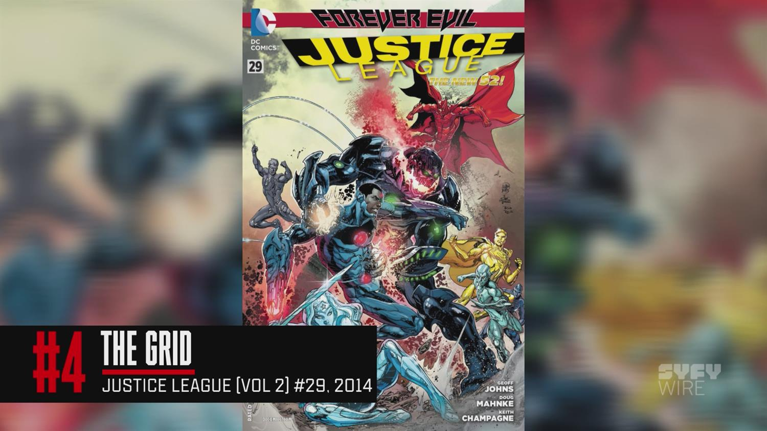 Cyborg's Top 5 Justice League Stories