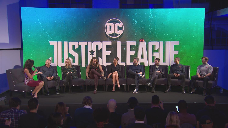 Justice League Cast Panel