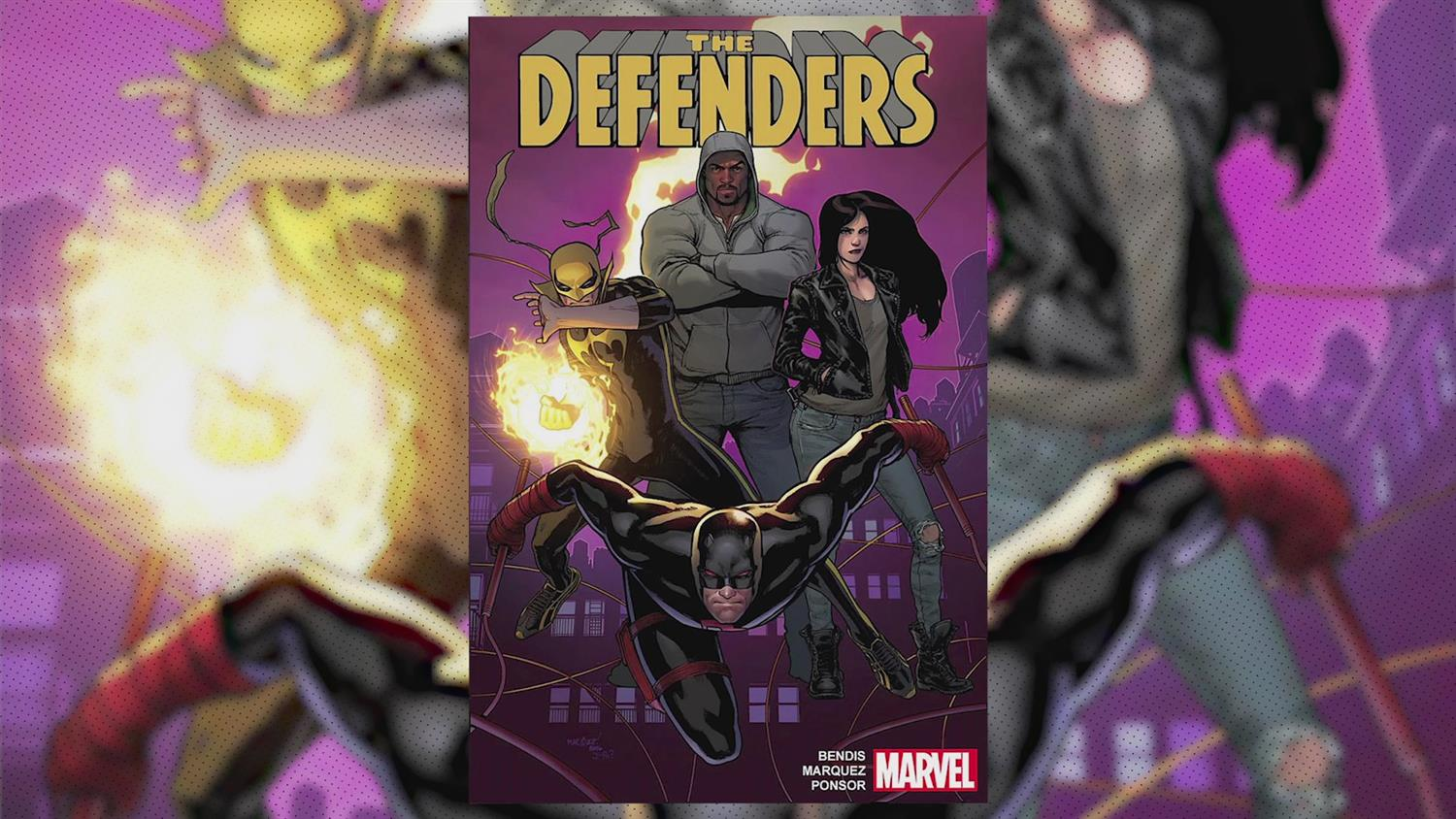 Defenders Writers Brian Michael Bendis on Luke Cage and More