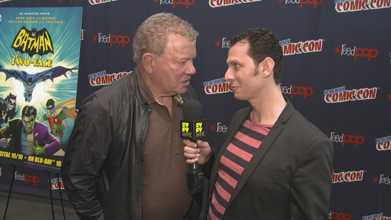 We Dare You Not To Laugh at This William Shatner Interview