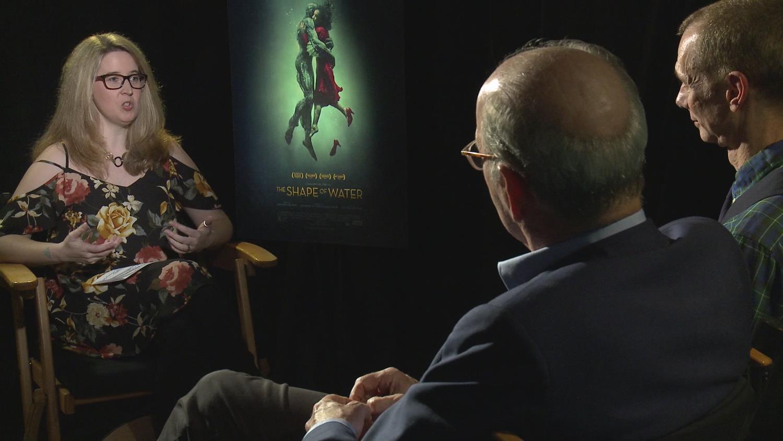 Doug Jones & Richard Jenkins on Working With Guillermo Del Toro - Shape of Water