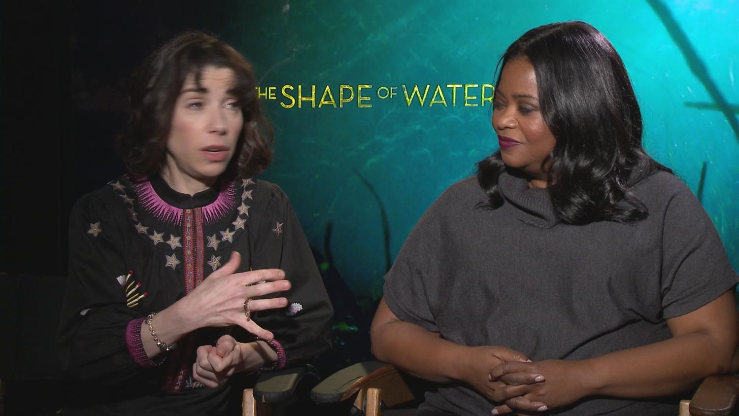 Sally Hawkins & Octavia Spencer on Their Friendship in Shape of Water