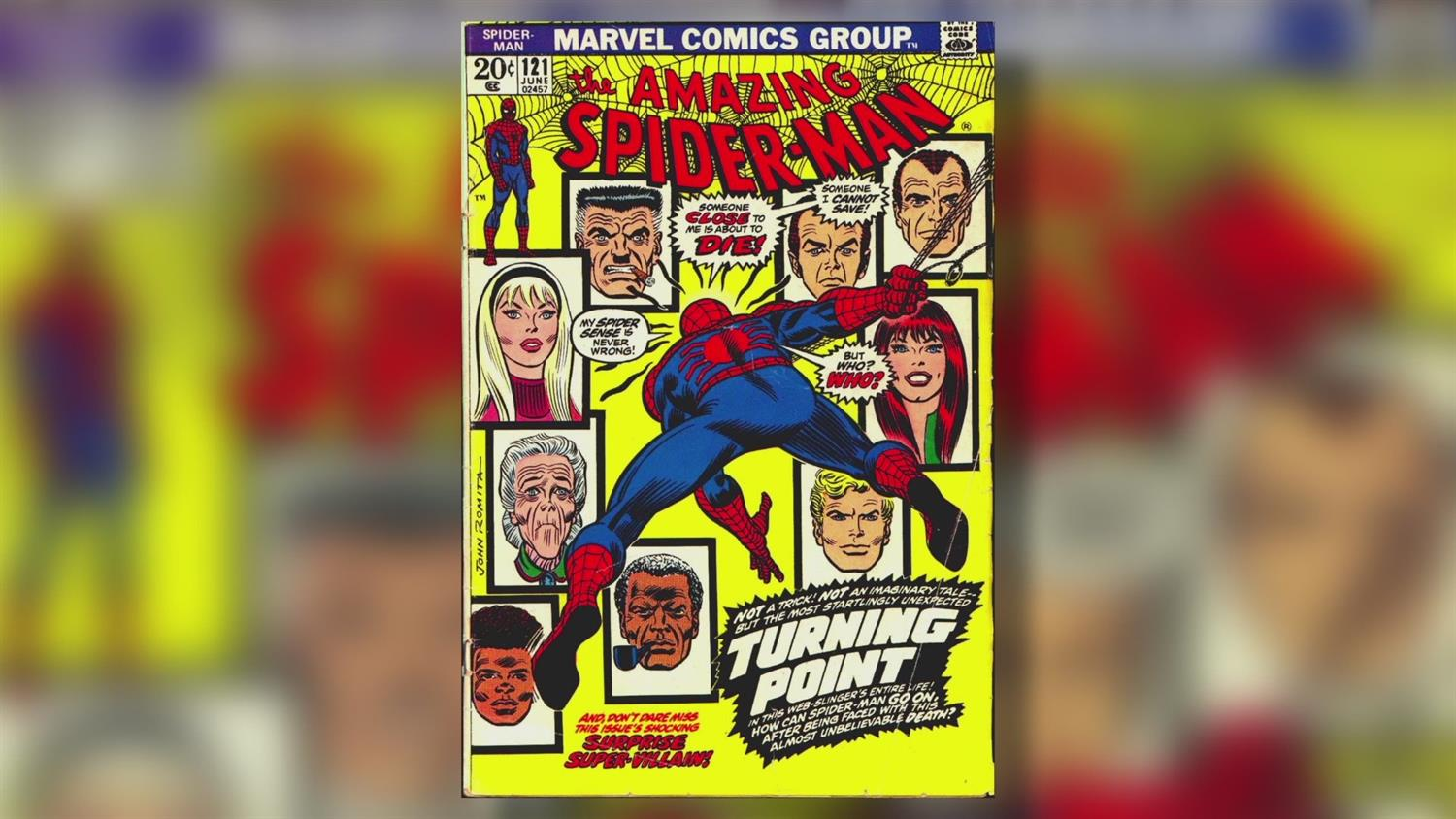 Spider-Man Artist John Romita Sr. on Killing Gwen Stacy