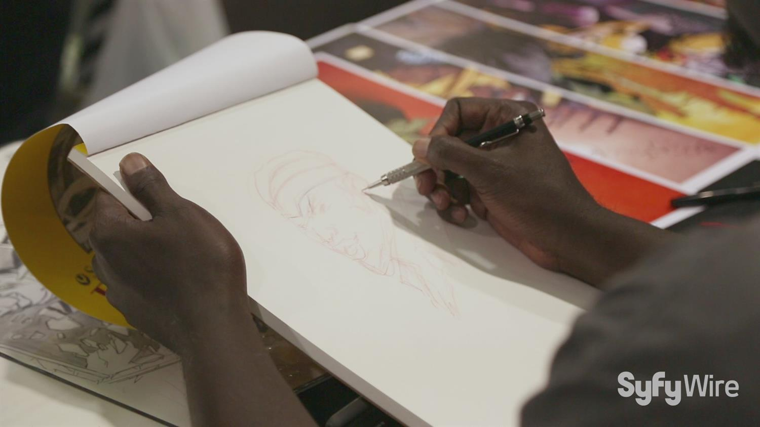 Watch: Luke Cage Sketched By Comic Book Artist Sanford Greene