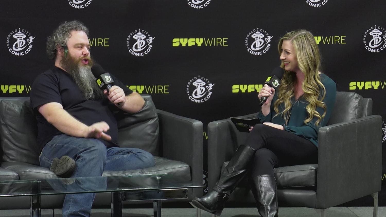 The Kingkiller Chronicles Writer Patrick Rothfuss Walks about Writer Magic (Emerald City Comic Con)