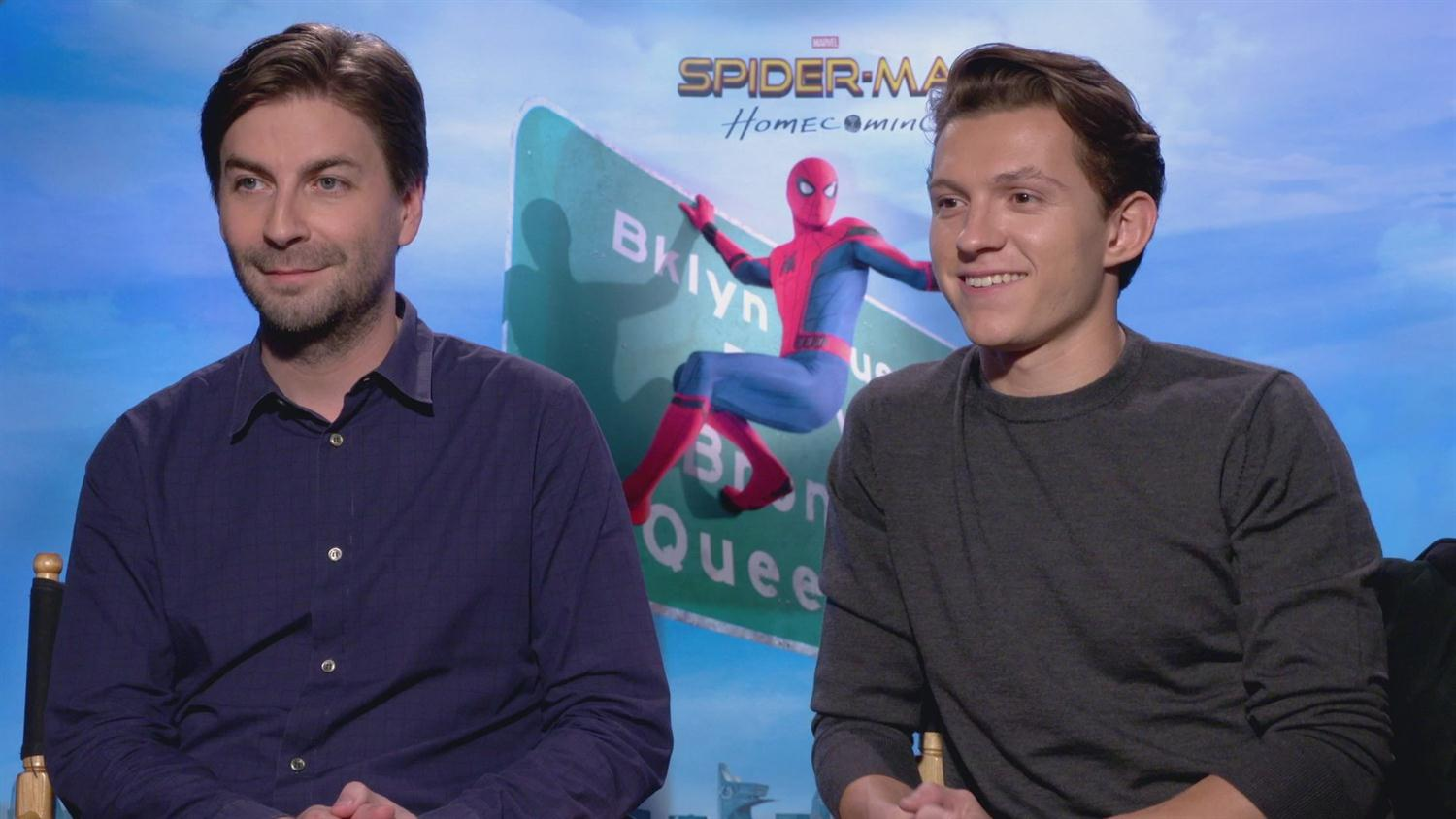 Spider-Man: Homecoming's Tom Holland on the Peter Parker Voice