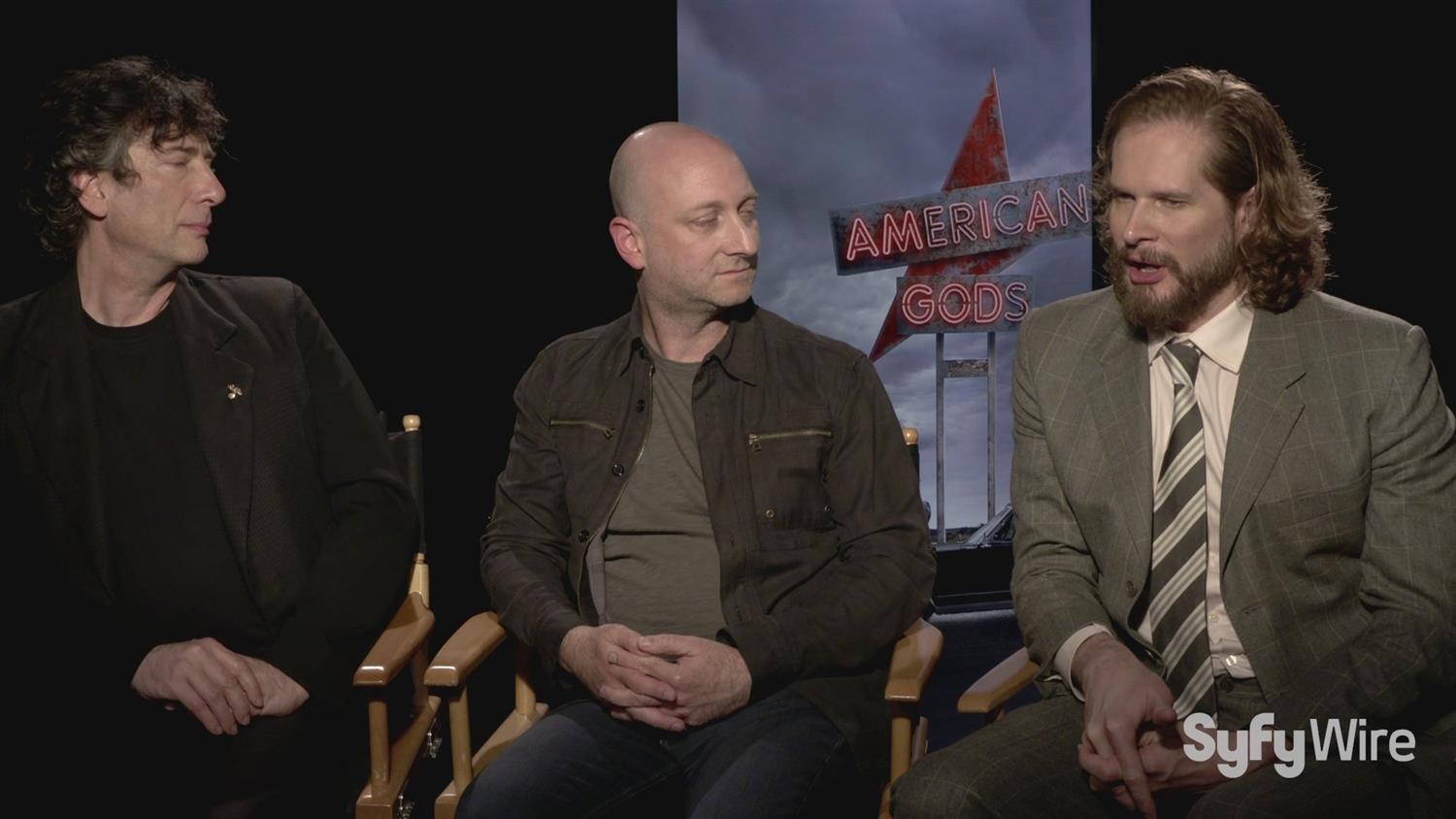 American Gods' Neil Gaiman and Bryan Fuller on Book to Screen