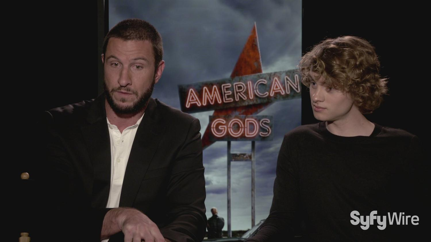 American Gods' Pablo Schreiber and Bruce Langley on Intense Auditions