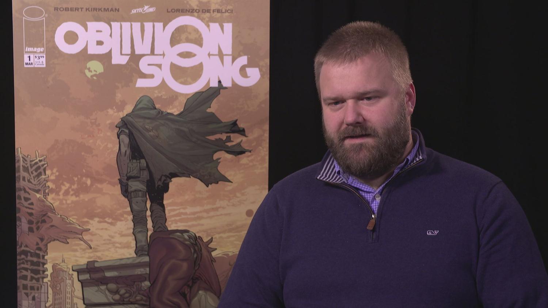 Walking Dead Creator Robert Kirkman on New Comic Oblivion Song