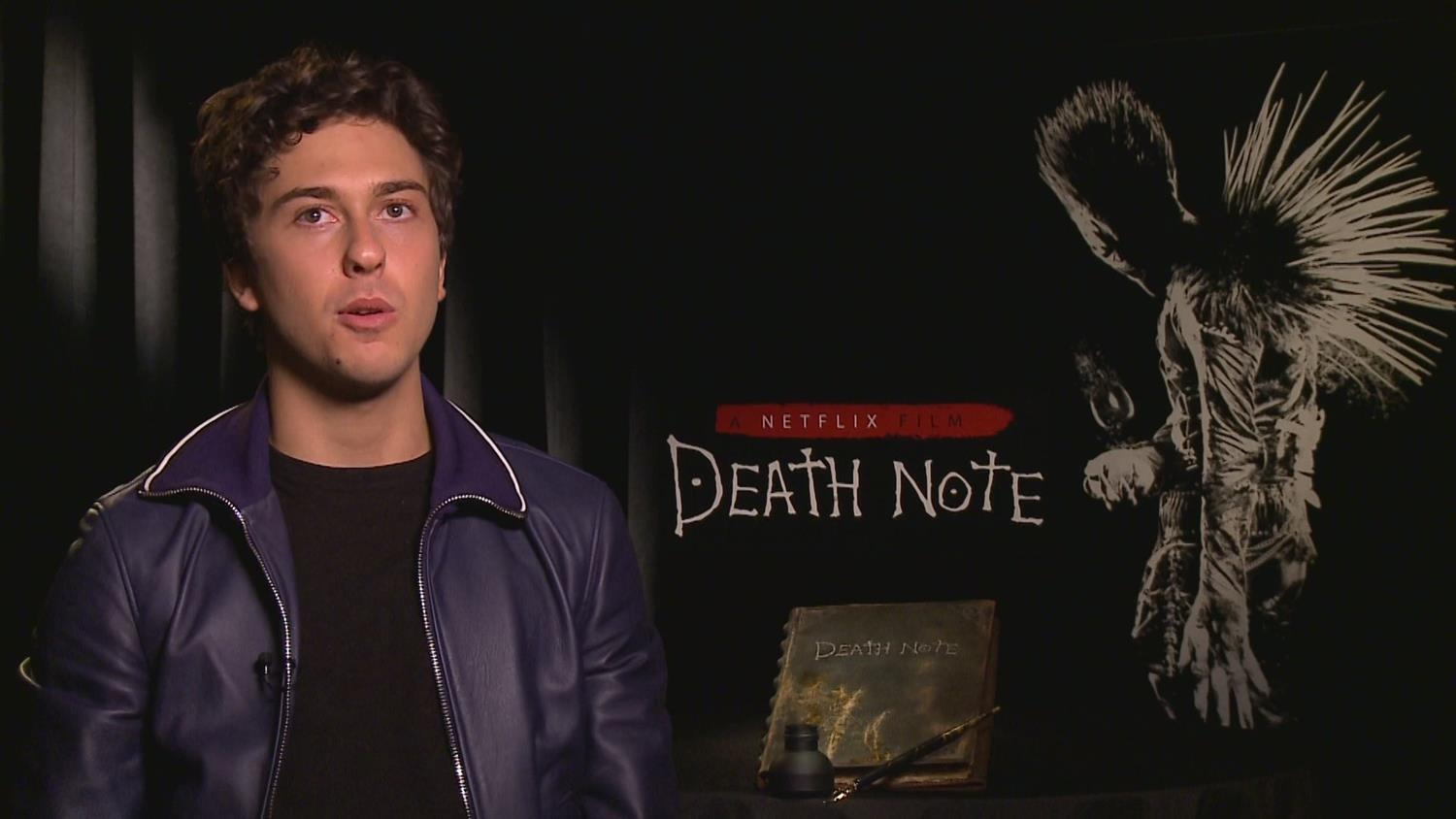 Death Note's Nat Wolff on Peer Pressure to Sign The Death Note