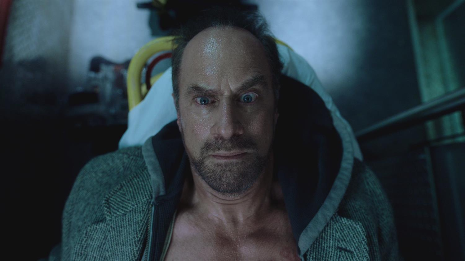 Grant Morrison on Happy! and Christopher Meloni