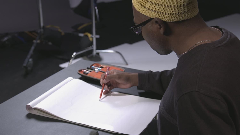 Watch Brian Stelfreeze Draw Batman