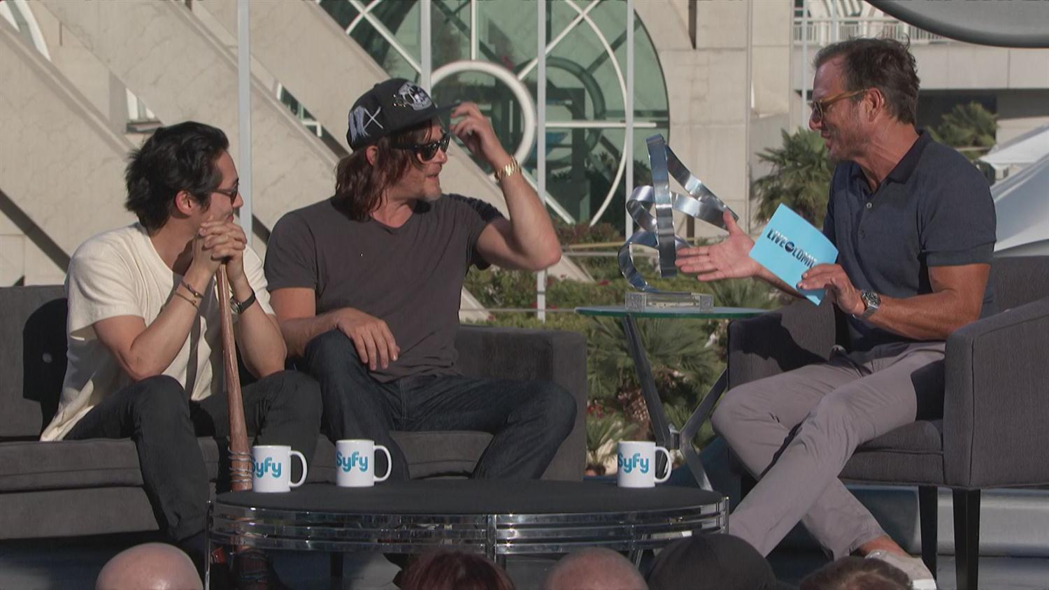 The Time Norman Reedus Pranked Steven Yuen
