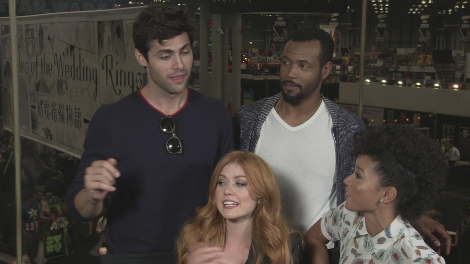 Shadowhunters Cast Preview Season 3 and New Couplings in Totally Charming Way
