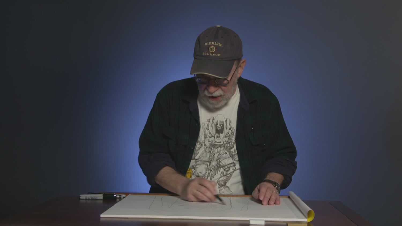 Watch Walt Simonson Draw Thor
