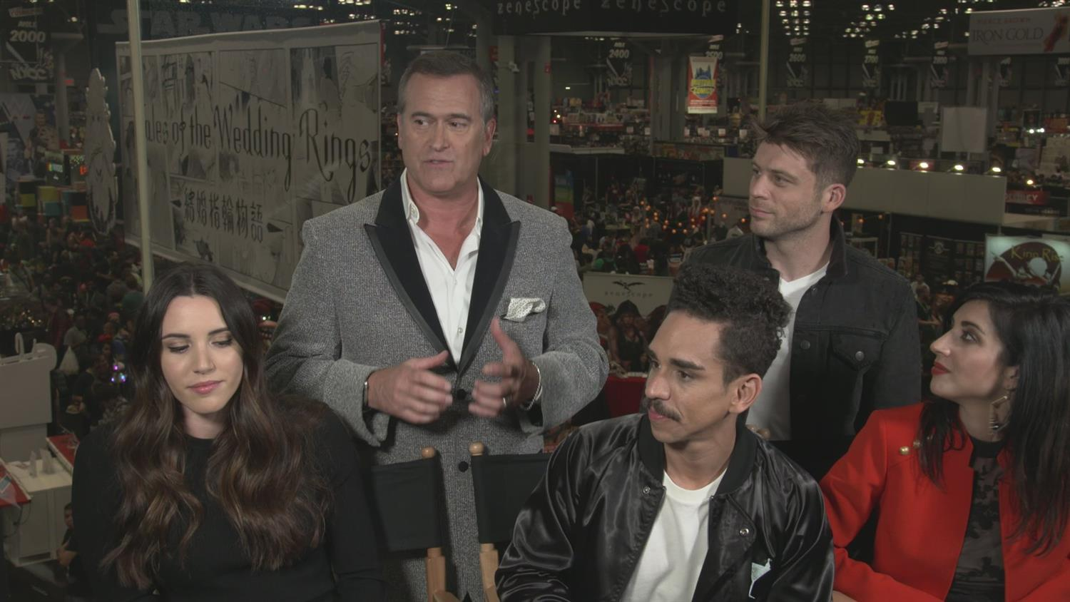 Bruce Campbell and Ash vs. Evil Dead Cast on Season 3 and the Different Ways to Kick Ass