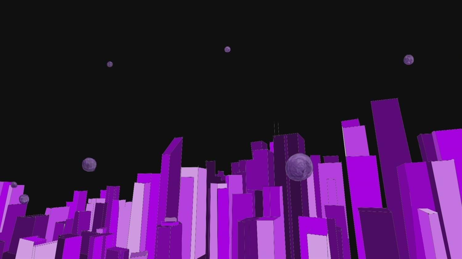 Meteors Destroying a City